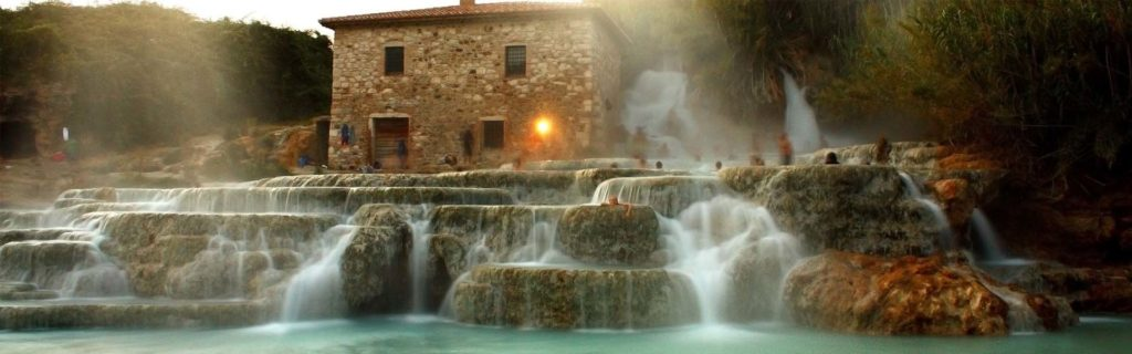 Thermal Park of Saturnia